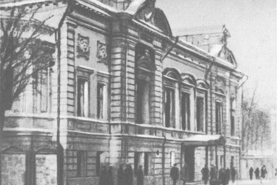 The birthday of the 3rd studio of the Moscow Art Theatre