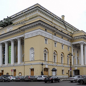 Alexandrinsky Theatre in Paris